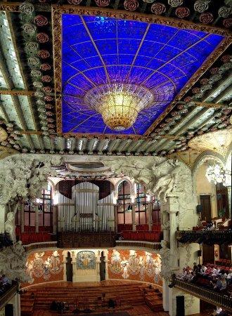 Palais de la Musique Catalane (Palau de la Musica Catalana) : Concert hall