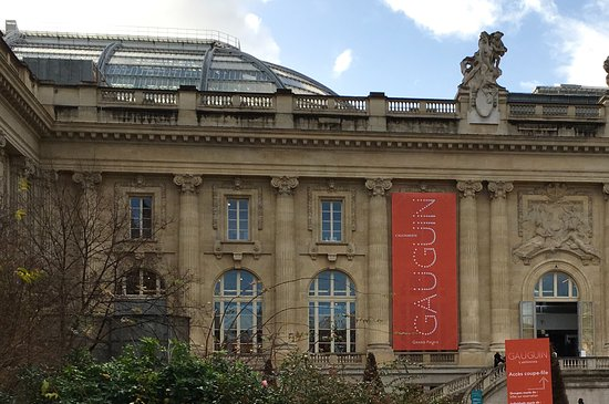 entrance to gauguin at grand palais photo de grand palais paris tripadvisor. Black Bedroom Furniture Sets. Home Design Ideas