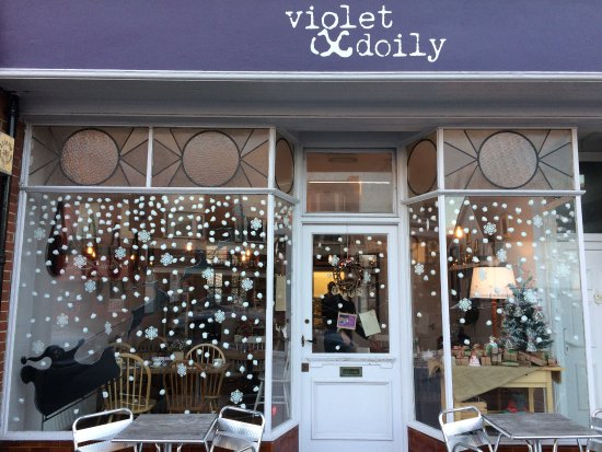 Brighton and Hove, UK: Violet & Doily