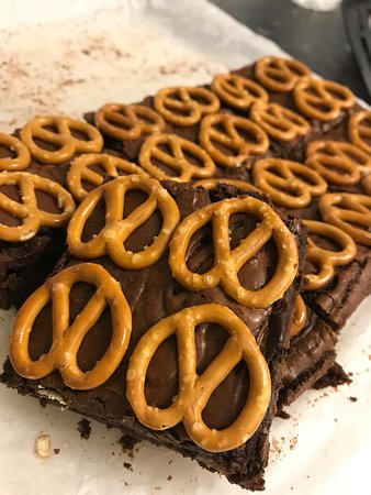 Брайтон и Хоув, UK: Pretzel brownies