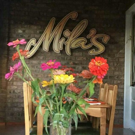 Interior of Mila's at its new location, the Cradock Golf Club.