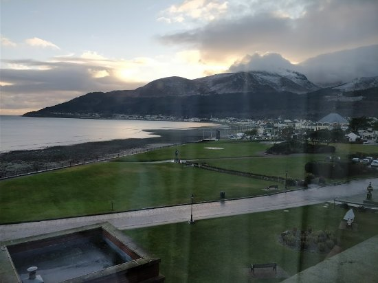 Slieve Donard Resort and Spa: View from the room