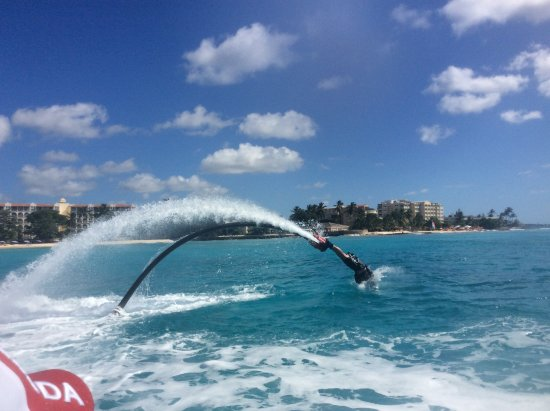 Spy's Watersports - Fly Barbados