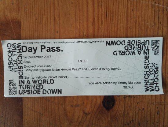 Newark-on-Trent, UK: £8 Adult entry ticket