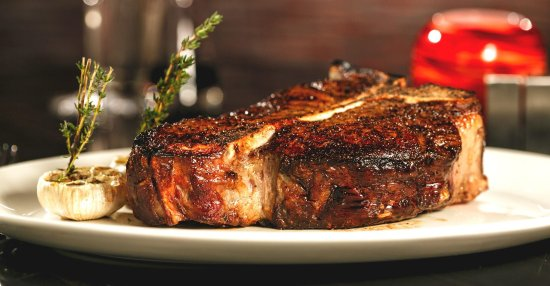 The Coach House: Prime T-Bone Steak..