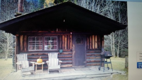 Rustic log cabins updated 2017 prices campground for New hampshire log cabins