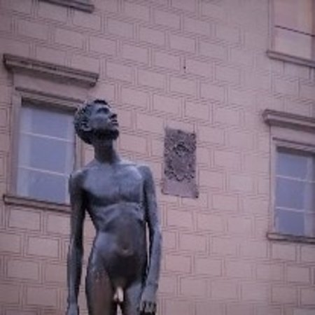 "Sculpture ""Youth"" in Prague"