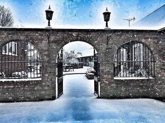 Houghton Conquest, UK: Snow