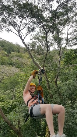 Witch's Rock Canopy Tour: The smile says it all :)