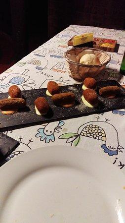 Ye, Spania: Restaurante Volcan de la Corona