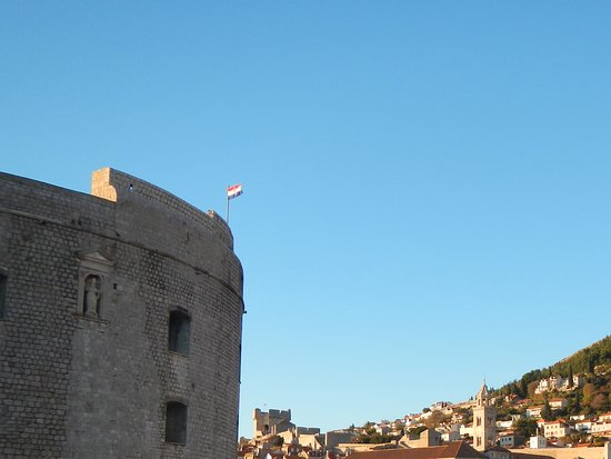 St. John's Fortress: Fortress on the left looking into the harbour