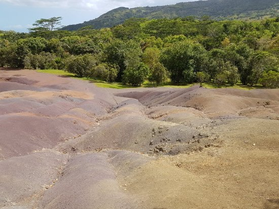 Chamarel: Seven Colored Earths