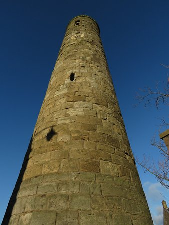 Abernethy, UK: tower from the base