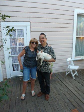 Auburn, CA: Me, Albert and Sassy
