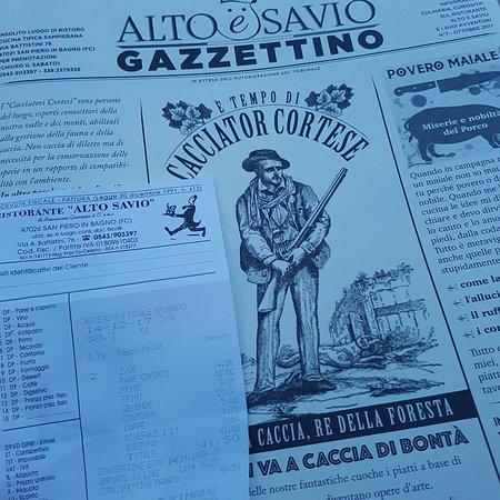 Ristorante Alto Savio, San Piero in Bagno - Ristorante Recensioni ...
