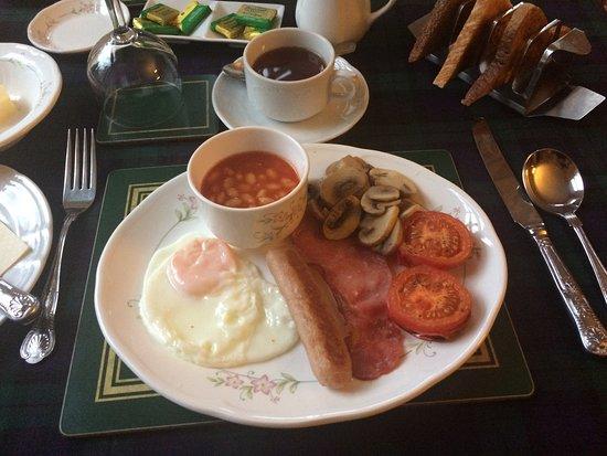 Strathtay, UK: Petit déjeuner écossais ...