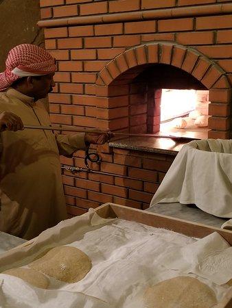 Heritage Village: fresh baked bread