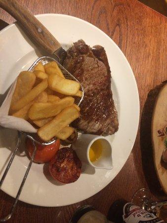 Dunblane, UK: Excellente viande