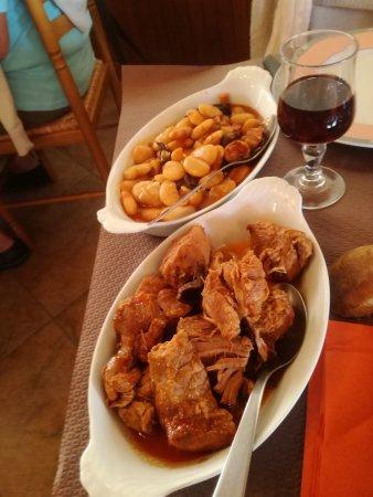 Chez Paul : Sauté de veau Corseaux haricots