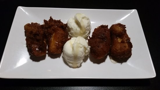 Mai Thai Cuisine: Deep fried banana