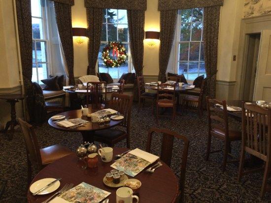 Banchory, UK: Salle de petit déjeuner