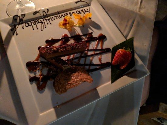 CanoeHouse: Anniversary dessert