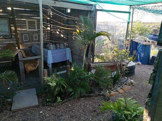 Hopefield, Sudáfrica: Outside sitting area