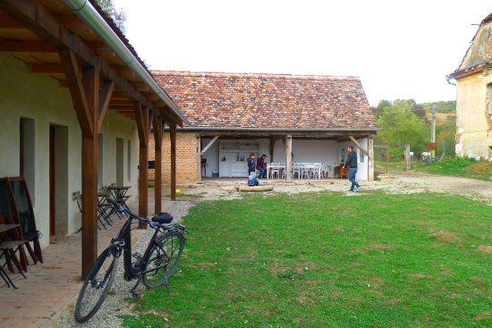 Cycling Romania : Stayed overnight at the horsefarm