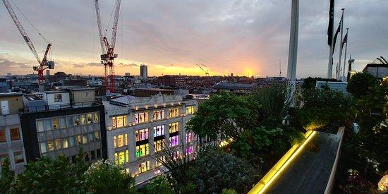 4b104a4e605a vue sur oxford street - Picture of John Lewis Roof Garden, London ...