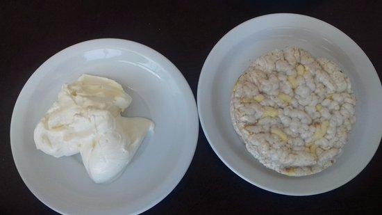 America Plaza Hotel: Super desayuno buffet!!!!!! Si sos celiaco, te ponen a dieta recontrahipocalorica. Estafadores!