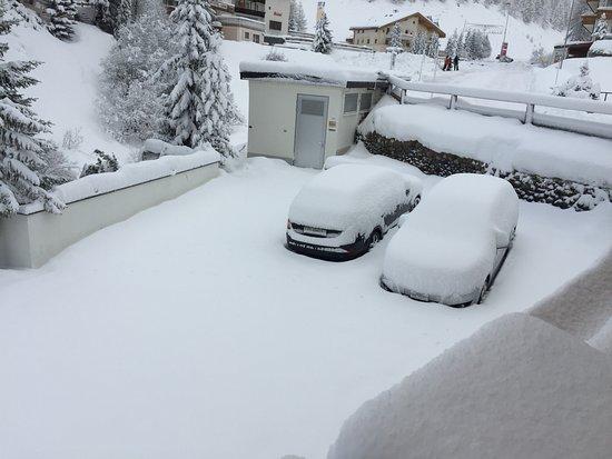 Sport & Wellness Hotel Post: es schneite in der Nacht