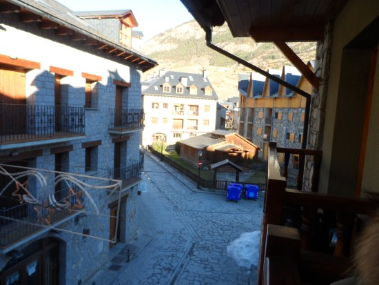 Hotel Ciria: vistas desde la terraza habitacion