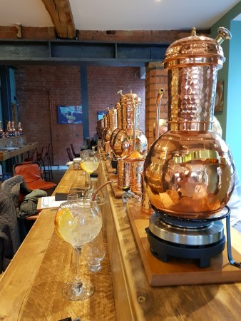 Loughborough, UK: A small g&t for inspiration