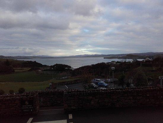 Portnablagh, Ireland: A bit dark but you can see the sea!