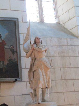 Troo, France: jeanne d arc