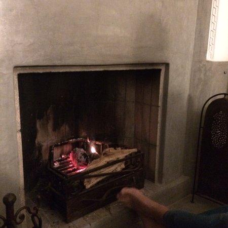 Les Jardins de la Medina: Open fire Restaurant
