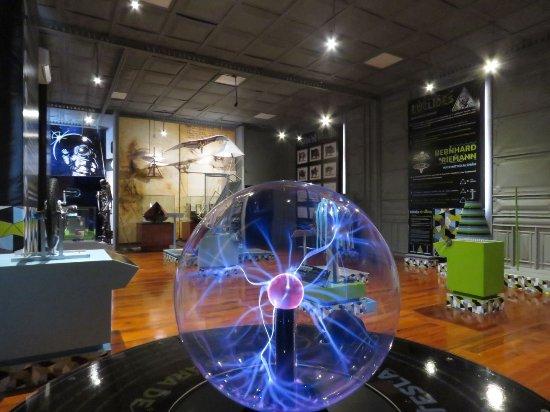 Orizaba, México: Vista del MIO desde el experimento de Lámpara de Plasma de Tesla