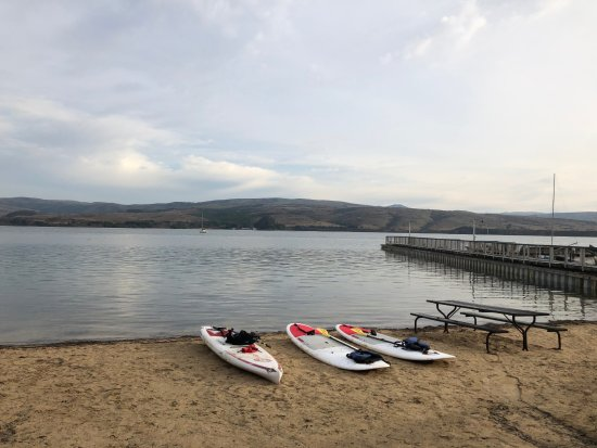 Marshall, Kalifornien: SUP private lesson with Blue Water Kayaking