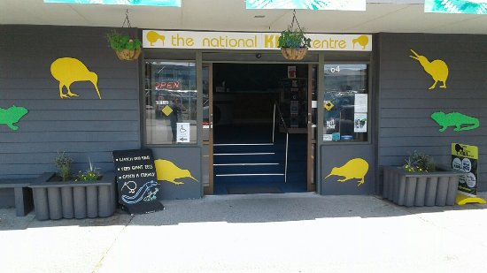 Hokitika, New Zealand: Entrance to National Kiwi Centre