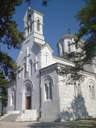 ‪St. Basil of Ostrog Orthodox Cathedral‬