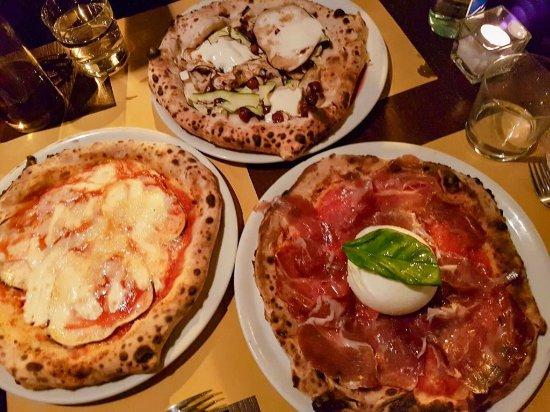 Bottega Baretti: A selection of pizzas