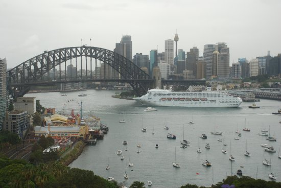 North Sydney, Australien: VIEW FROM ROOM