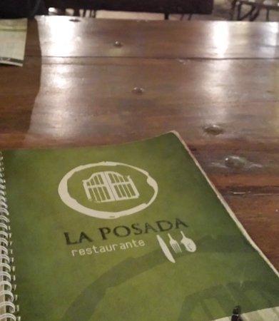 La Posada Restaurante: Carte du restaurant