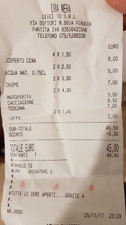 San Sisto, Italia: Uva Nera