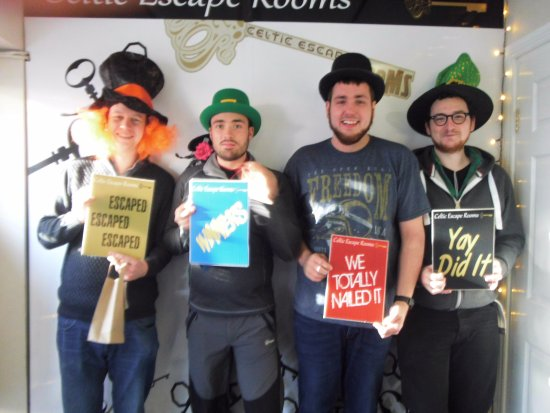 Athlone, Irland: Escape Room Success!