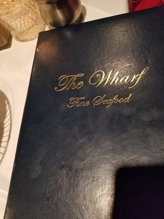 The Wharf: Menu
