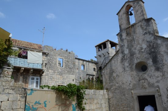 Korcula Town, Κροατία: Kościół Św. Piotra w Korculi
