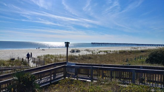 South Brunswick, Kuzey Carolina: Picture from Ocean Isle Beach, short drive away!