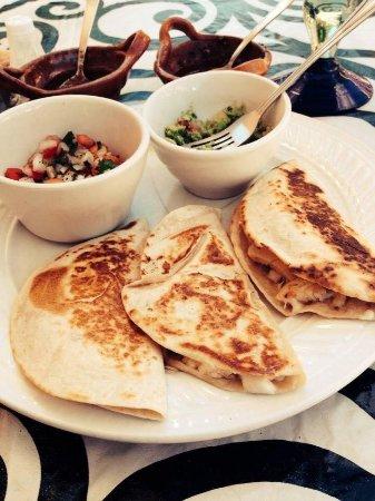 Ruben's Restaurant Isla Mujeres: Chicken Quesadilla