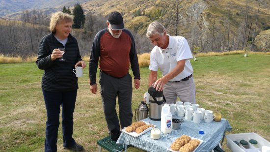 Unforgettable Skippers Canyon Tour : Tea or Coffee for Picnic break